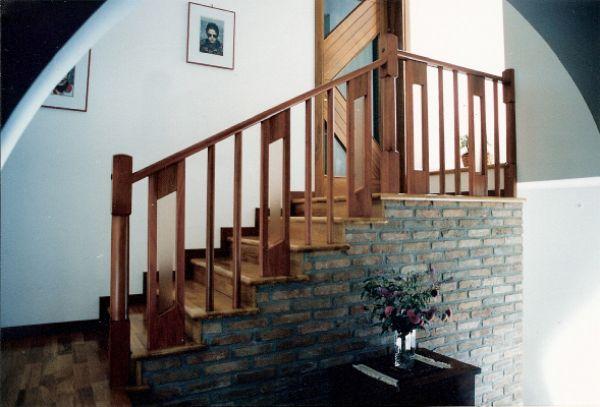 Cristofoli arredamenti e scale scale ringhiera con for Arredamenti scalea