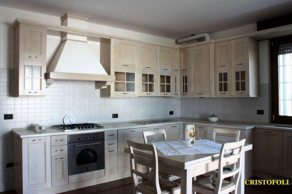 Cristofoli arredamenti e scale cucine cucina di rovere - Rovere sbiancato cucina ...