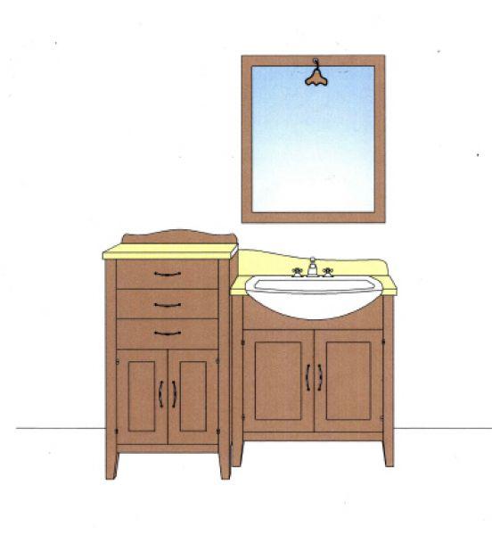 Cristofoli arredamenti e scale arredo bagno arredamento bagni alcuni progetti di mobili per - Progetti per bagno ...