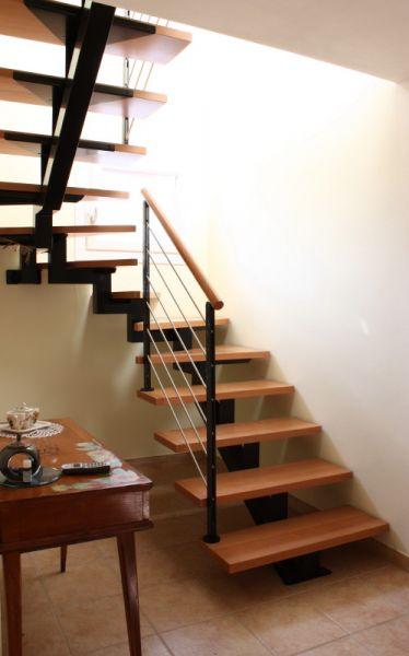 Cristofoli arredamenti e scale scale monotrave for Arredamenti scalea