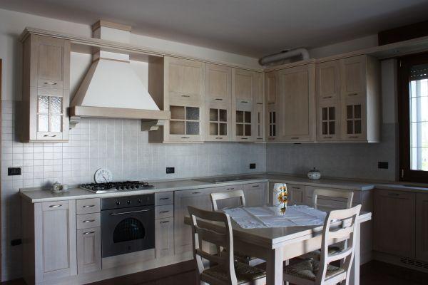 cucina di rovere rovere sbiancato
