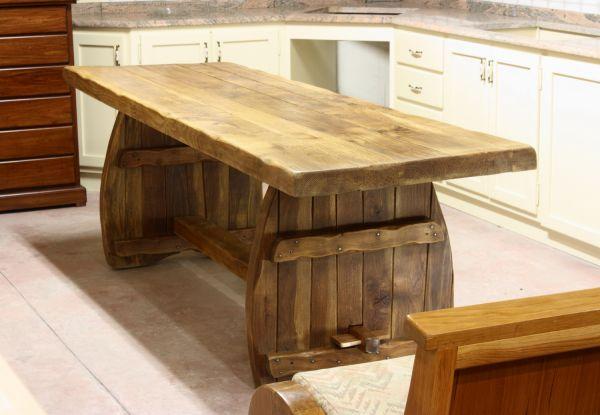 castagno tavolo rustico : Tavolo rustico Rovere