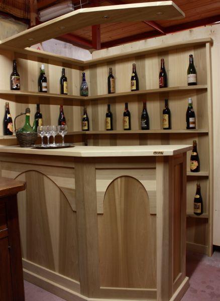 Cristofoli arredamenti e scale soggiorni tavoli e mobili rustici per taverne - Mobili bar per casa ...