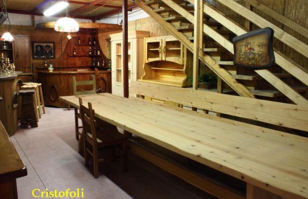 Cristofoli arredamenti e scale cucine mobili per taverna - Cucine per taverna ...