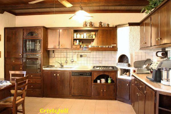 Cristofoli arredamenti e scale cucine cucina rustica - Arredo cucina rustica ...