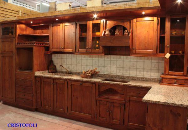 Cristofoli Arredamenti e Scale - Cucine - Cucina rustica