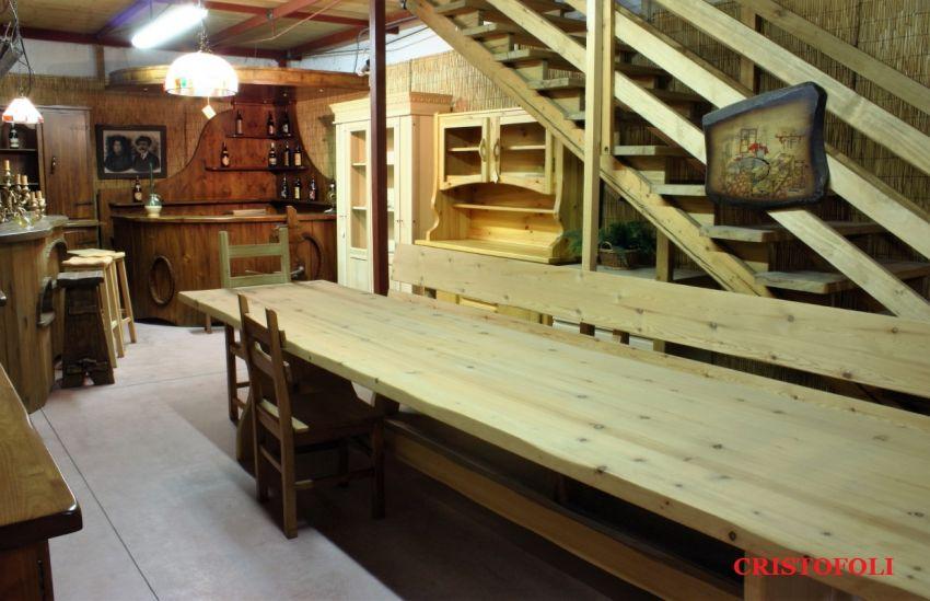 Cristofoli Arredamenti e Scale - Soggiorni - Tavoli e mobili rustici ...