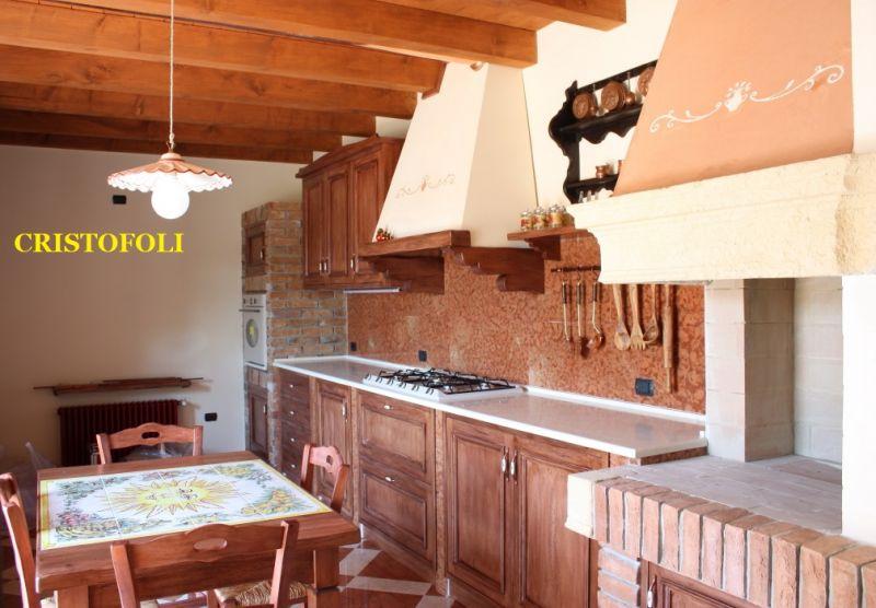 Cristofoli arredamenti e scale cucine cucina con - Struttura cucina in muratura ...